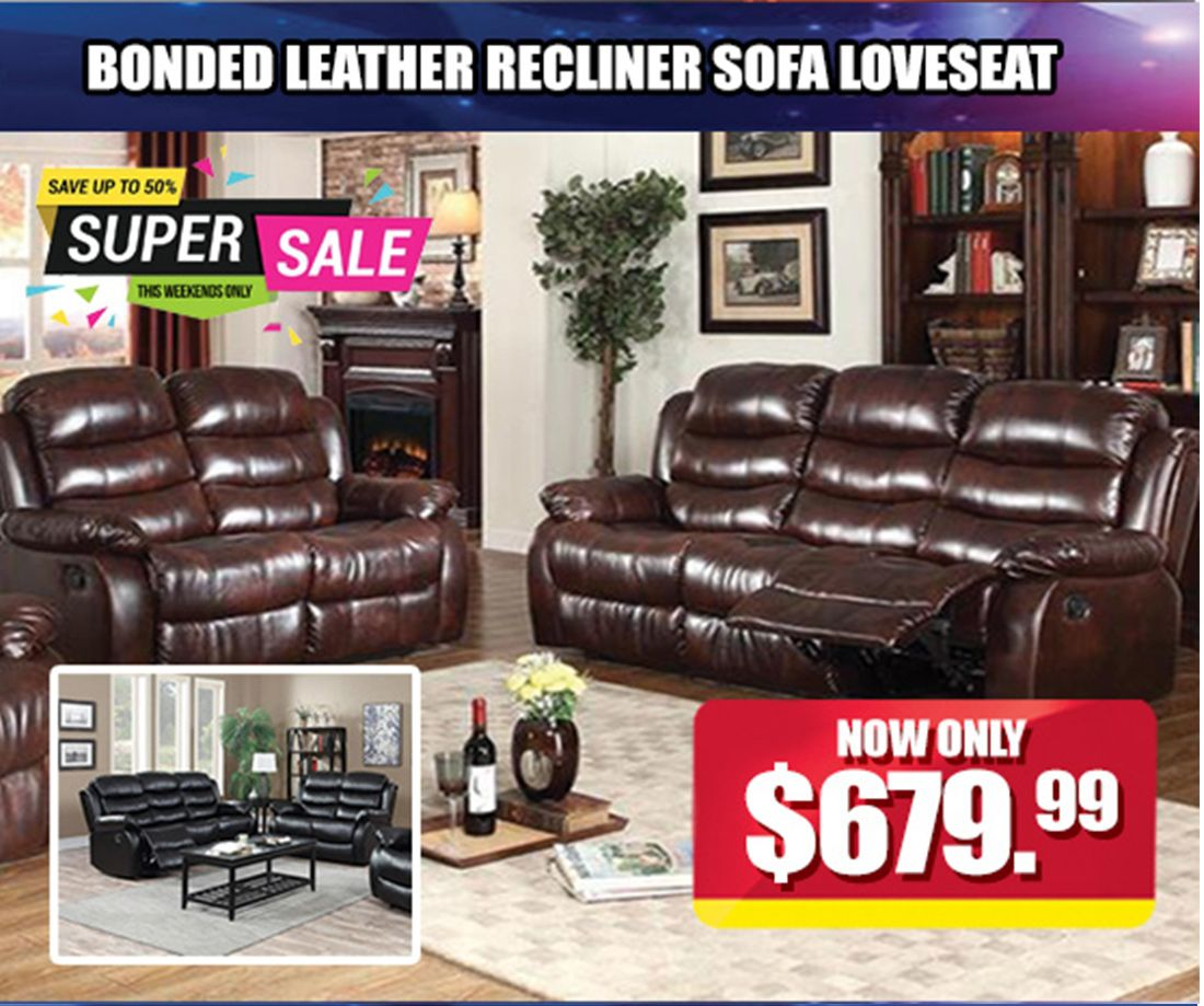 living room furniture clearance sale couches bonded leather recliners are now 679 99 deal is taking place