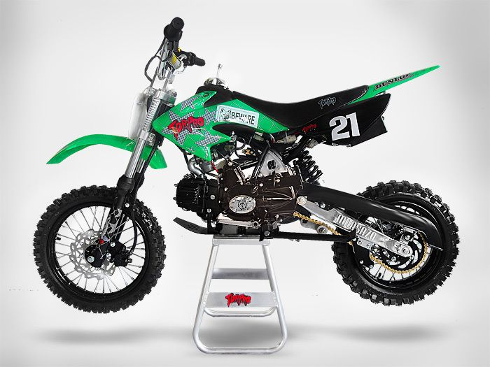 Xms 125cc Ecx Tdr Dirt Bike Available In Green And Blue Only