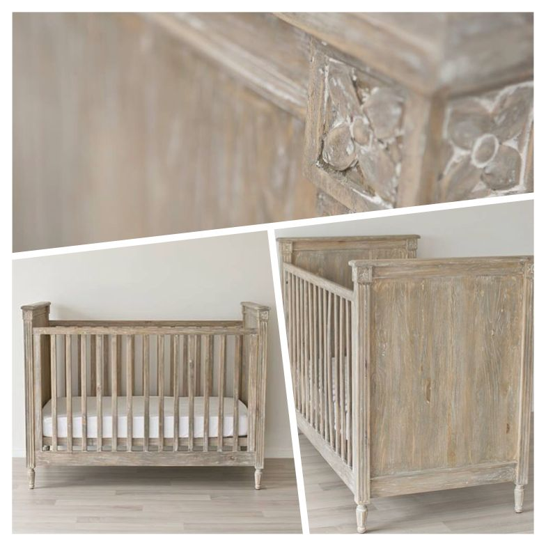 Good Incy Interiors Baxter Cot In Driftwood. Nursery ...