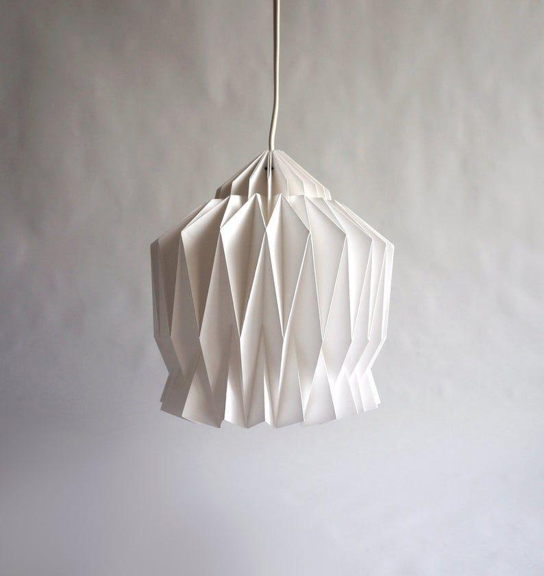 DORIS  Origami Paper Lampshade  | Etsy