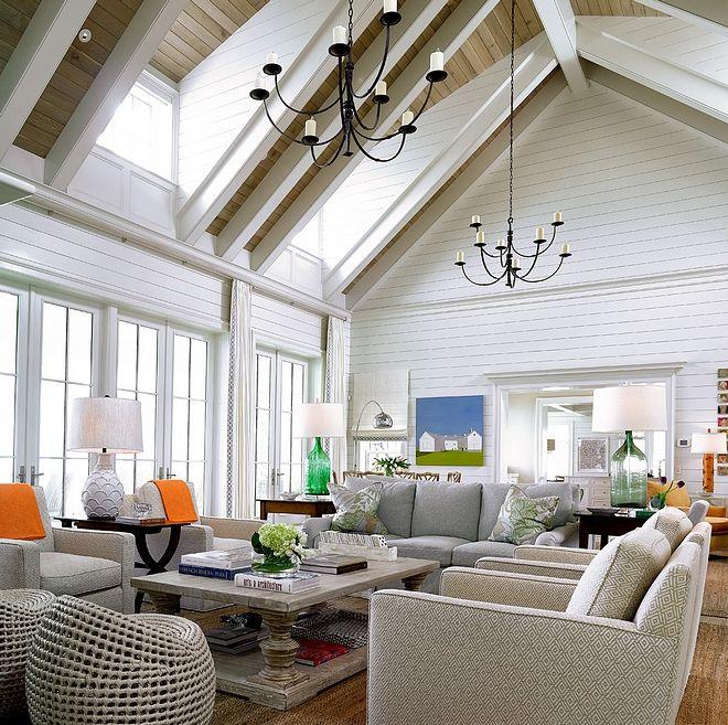 30++ Shiplap living room ceiling gray information