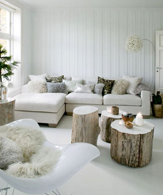 Traditional Scandinavian Living Room Interior Decorating Ideas