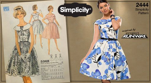 Vintage-inspired Simplicity patterns giveaway! And- How to Wear ...