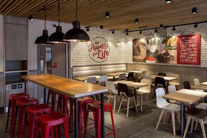 Dreamersradio com  Ingin Tampil Baru, KFC Ubah Desain Interior is part of Restaurant interior -