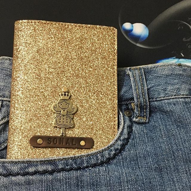 @sonallodaya  I hope you love this Bling cover as much as we loved making it for you😊  Rich Quality Bling Shimmer Passport holders with variety of charm ornaments! . Gold Rose Gold Silver Black . Personalise your cover : Today. Happy Shopping 😇 . #passportcoversatilovefashion . #customisedpassportcover #personalisedpassportcover ##passport #passportholder #passportcover #passportready #instapassport #instatravel #travelgram #wanderlust #wandering #traveller #travelersnotebook…