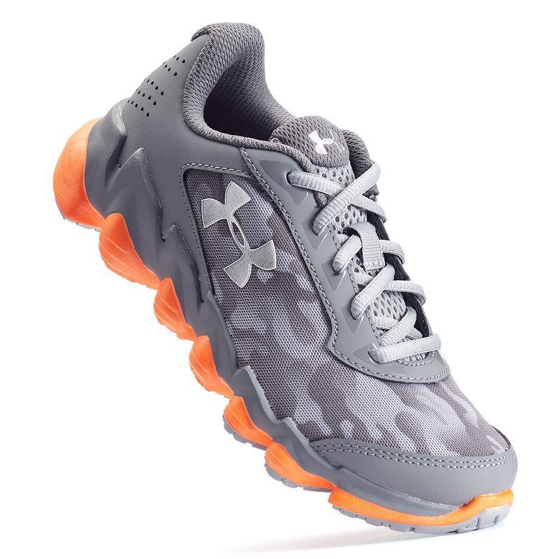 the latest 23a4a a368f Under Armour Spine Disrupt Preschool Boys  Running Shoes, Boy s, Size  12,  Silver