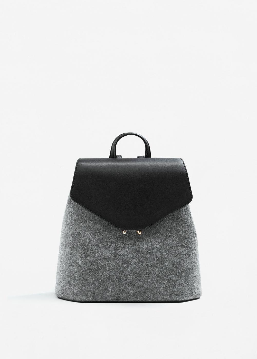 sac dos tendance mode Mango en 2019 | Sac
