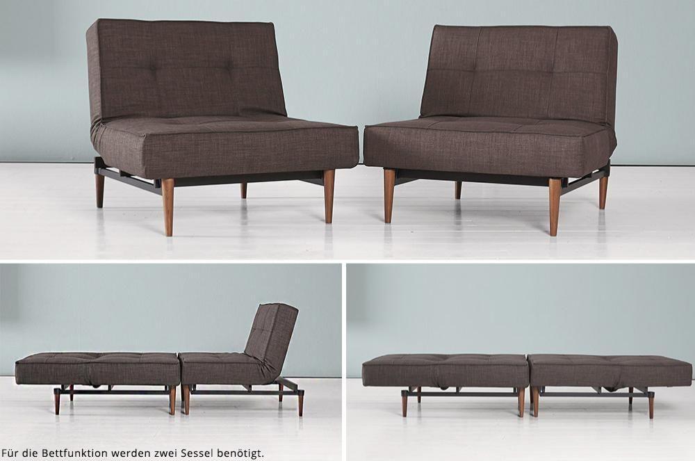 splitback schlafsessel von innovation recamiere couch. Black Bedroom Furniture Sets. Home Design Ideas
