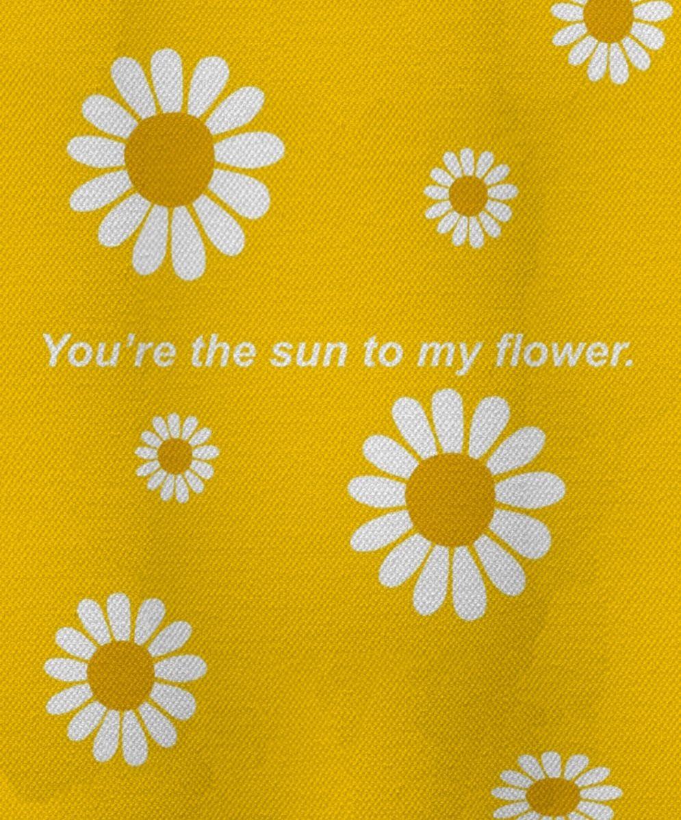 Quote Yellow Flower Edit Background Wallpaper Yellowaesthetic