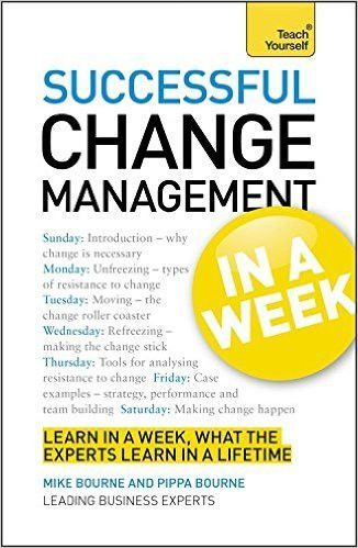 Change Management in a Week Teach Yourself (Teach Yourself - change management resume