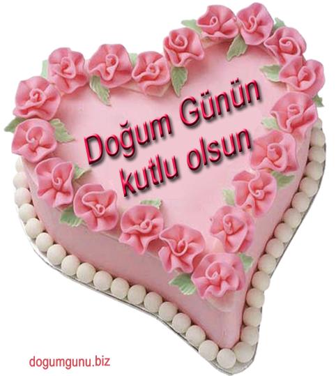 Pembe Guller Ve Kalpli Dogum Gunu Kutlamasi Dogum Gunu Kutla Birthday Birthday Greeting Cards Birthday Greetings