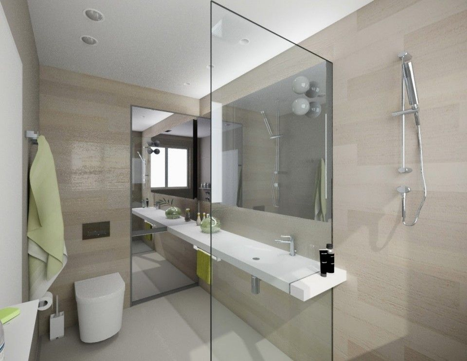 Bathroom Designs With Glass Partition stunning minimalist bathroom interior design with glass partition