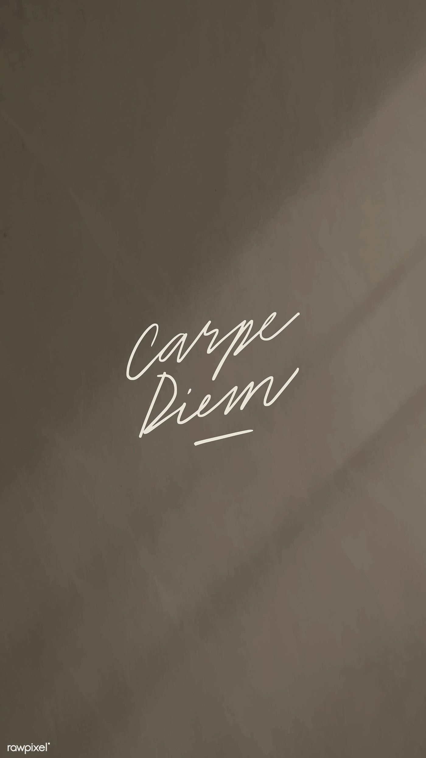 Download free vector of Carpe diem on a black background vector  by katie about quote background, illustration minimal, type, today, and inspirational quote 2041756