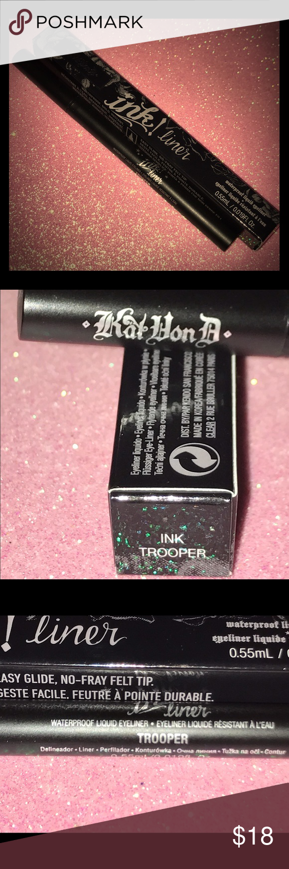 Kat Von D Ink Liner Trooper New In Box Never Used This is