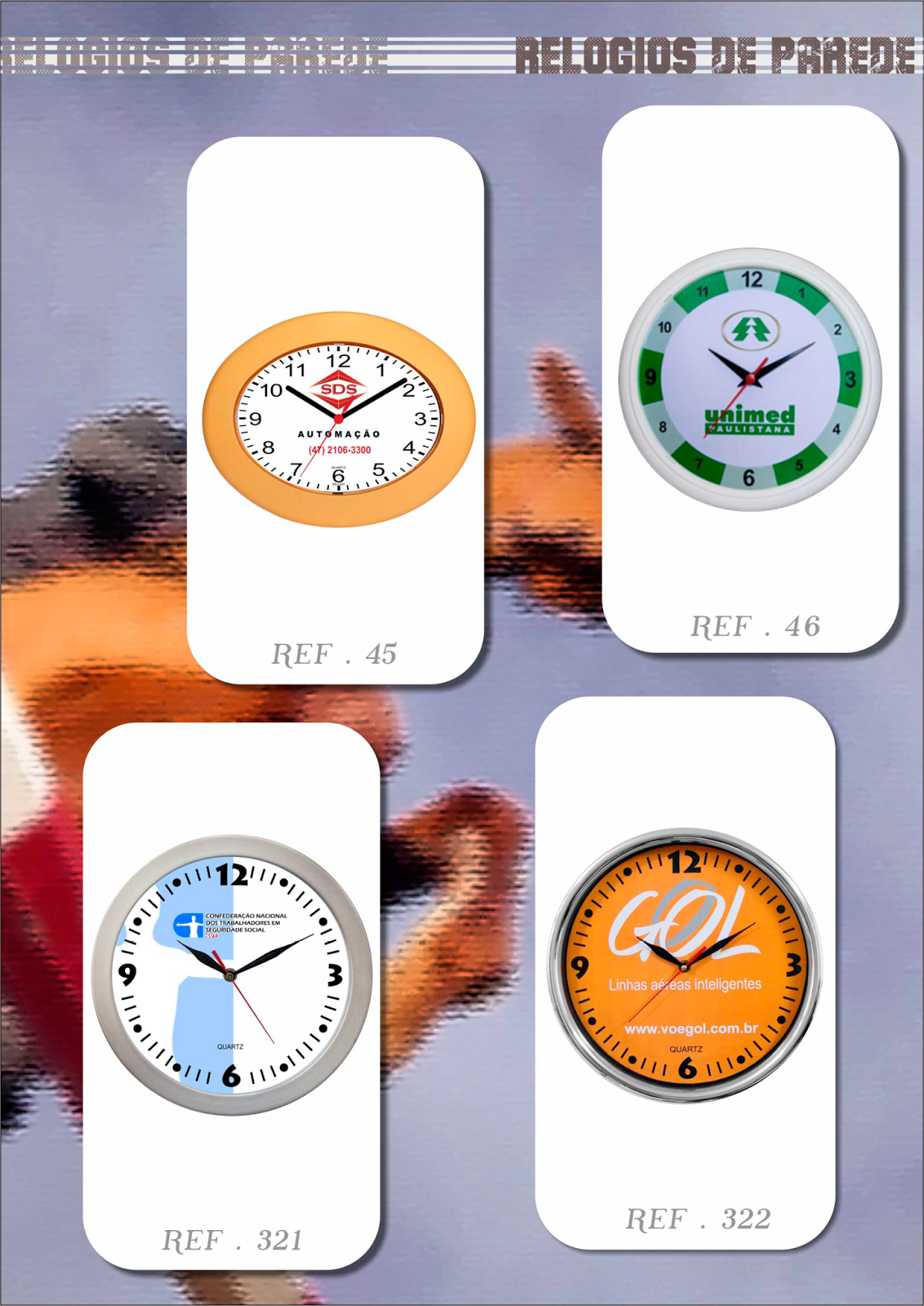 CLOCK 13 RELÓGIOS