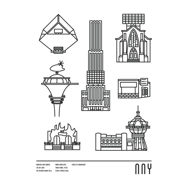Awesome 'NNY' design on TeePublic!