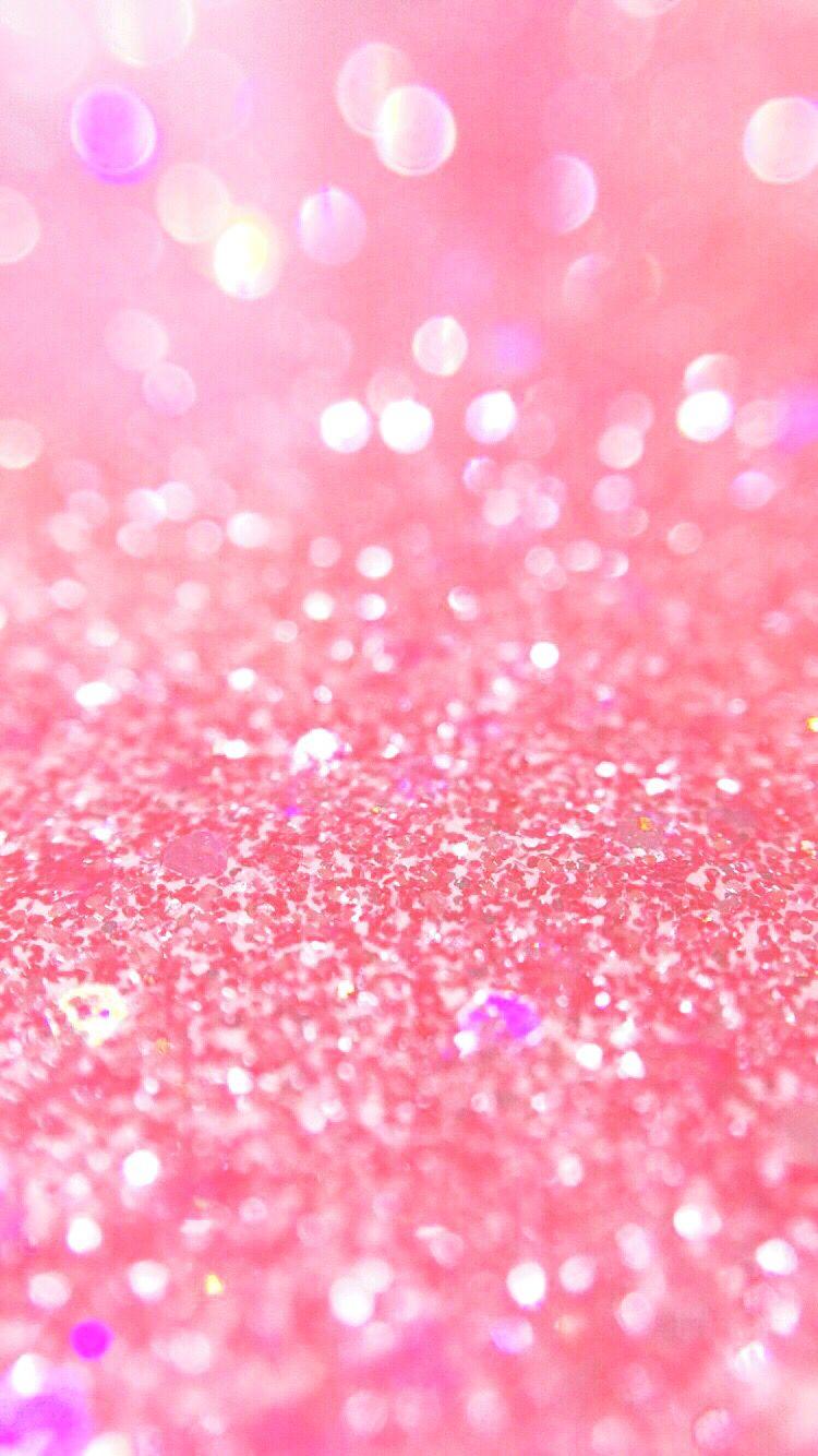 pink glitter wallpaper