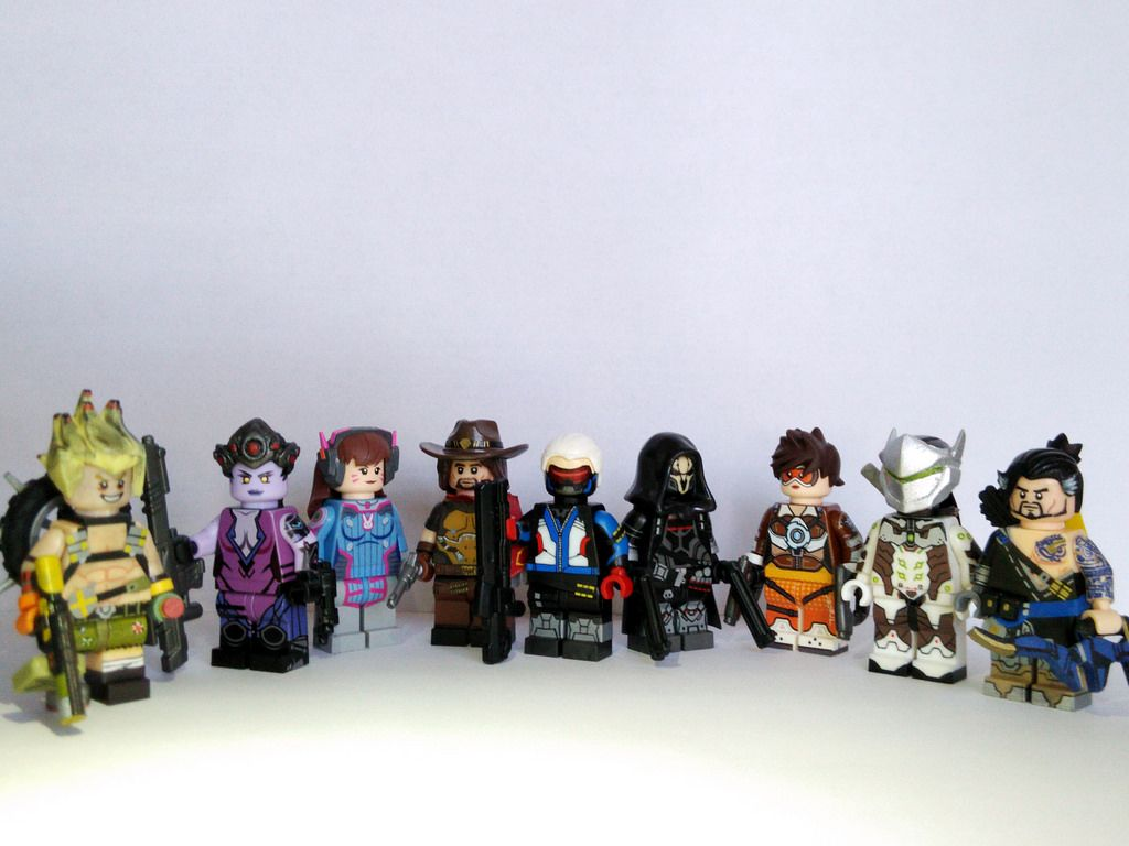 Lego Overwatch Minifigures Custom Seal Skeleton Diagram Http Wwwflickrcom Photos Smgskullboy Sets Made By Biao Customs On Flickr 152197854n02 These Are Amazing