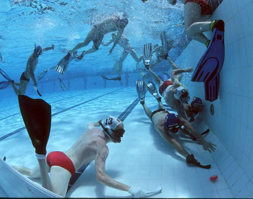 Have You Heard About Underwater Hockey Hockey Underwater Extreme Sports