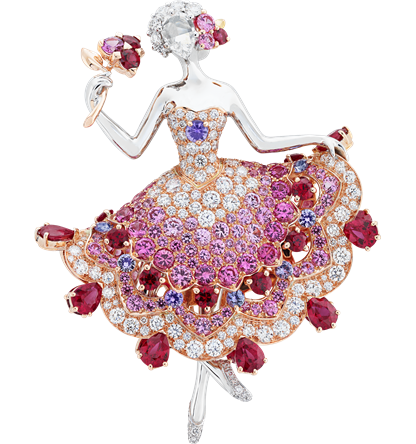 Van Cleef & Arpels Iolanta Ballerina Clip