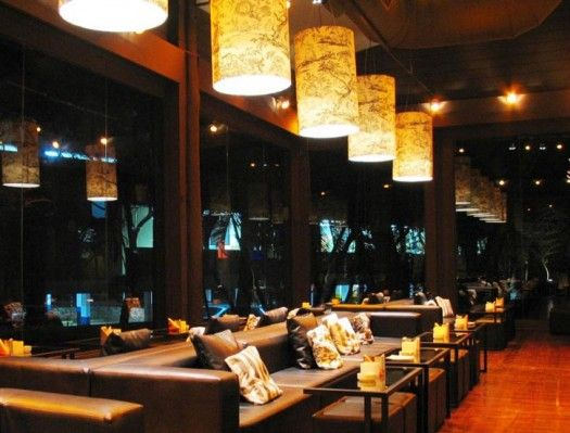 Guilherme torres taboo lounge bar restaurant interior for Bar and restaurant interior design ideas