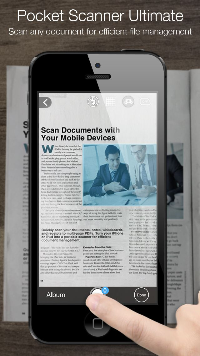 SAVE 2.99 Pocket Scanner Ultimate Scan Documents Notes