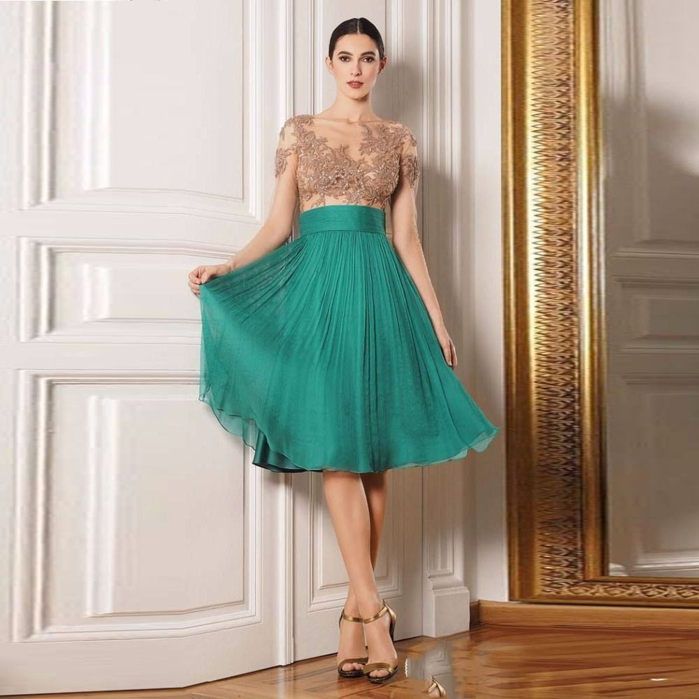Find More Mother of the Bride Dresses Information about Chic Green ...