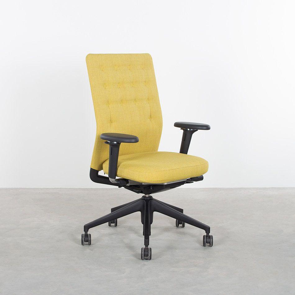 Bureaustoel Vitra Eames.Productnaam Vitra Id Trim Bureaustoel Antonio Citterio Ontwerper