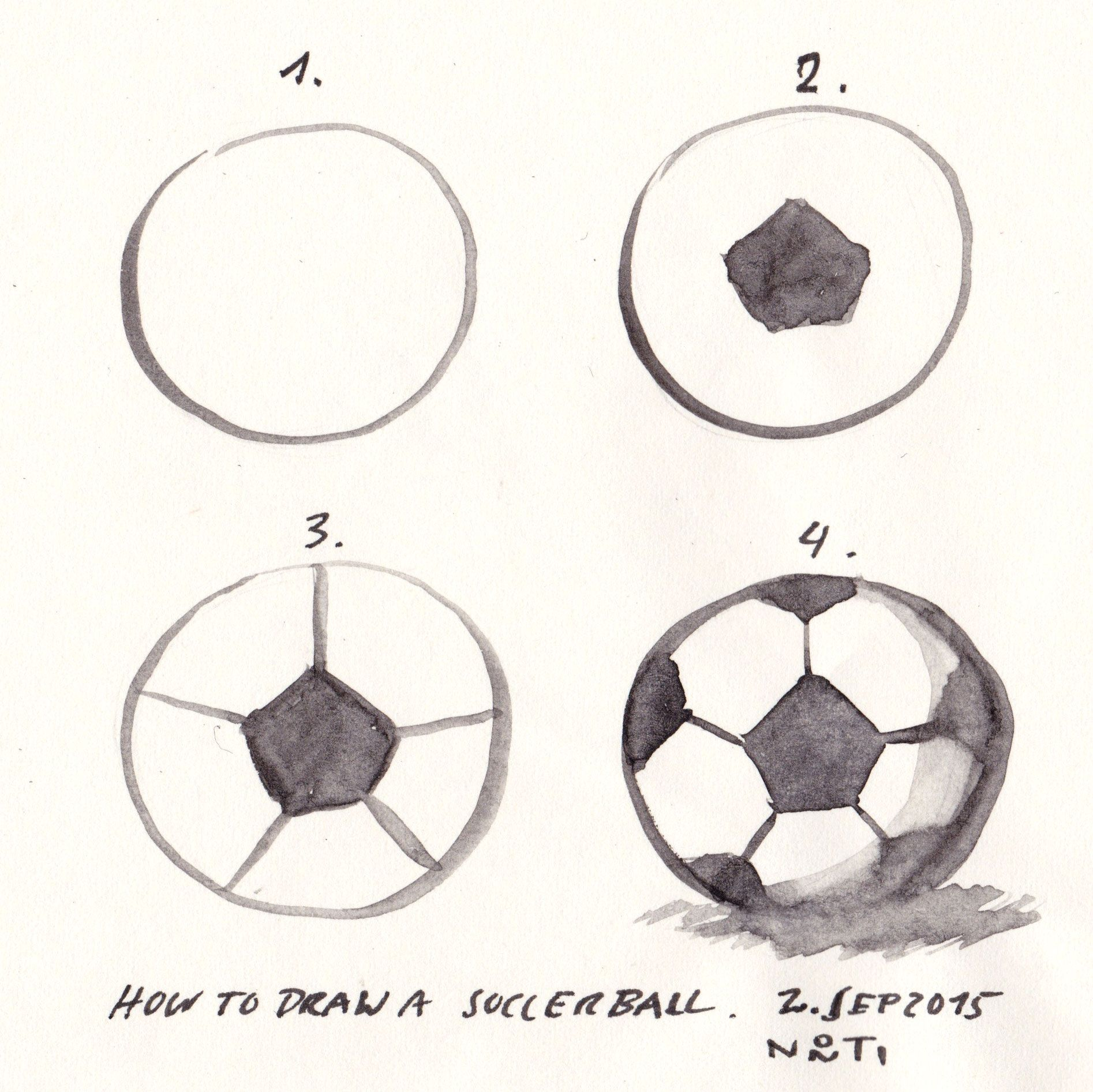 Diary Picture 100 365 How To Draw A Soccer Ball One Of My Current Projects It To Design Signs One Sign Is For A Fo Ball Drawing Soccer Art Soccer Drawing