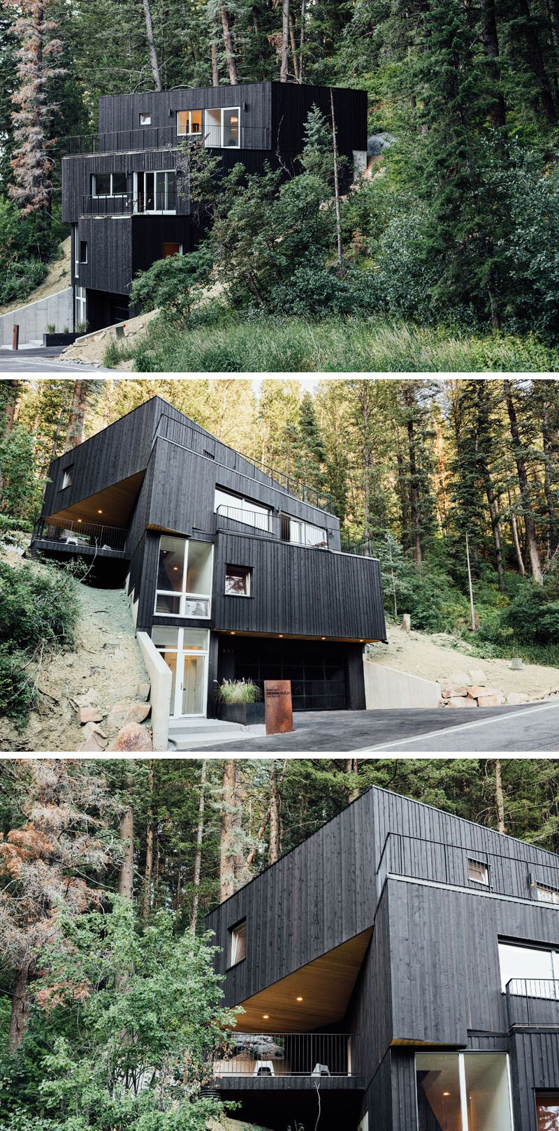 The Treehaus By Park City Design Build Modern Houses House