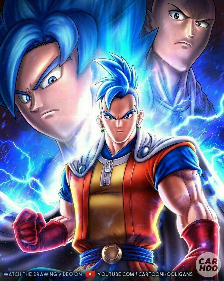 Goku And Saitama Fusion Goku Y Vegeta Imagenes De Pikachu Dragones