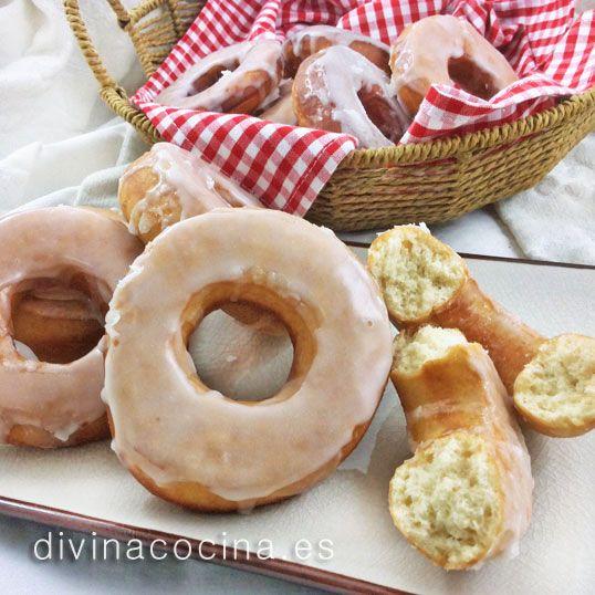 donuts caseros divina cocinarecetas f ciles cocina