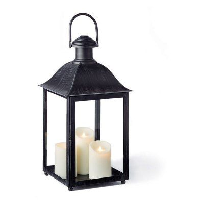 Napa Home And Garden Coach House 23 In Outdoor Lantern Washed Black Px207bk