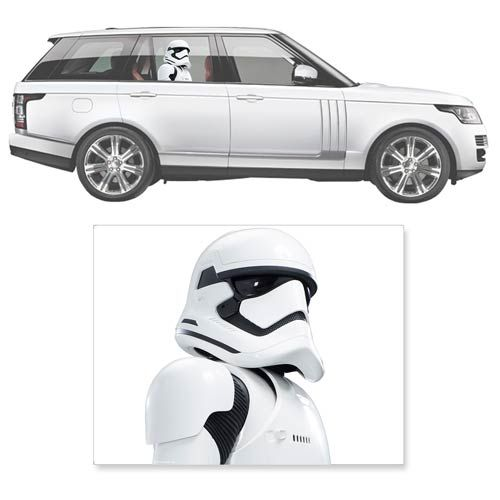 Star Wars First Order Stormtrooper Passenger Car Decal Fanwraps - Star wars car decals