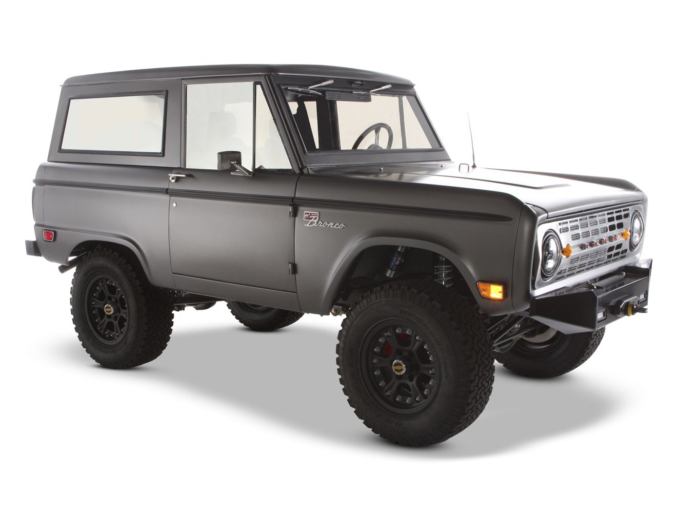Very cool custom built 1968 Ford Bronco. Built by Icon in