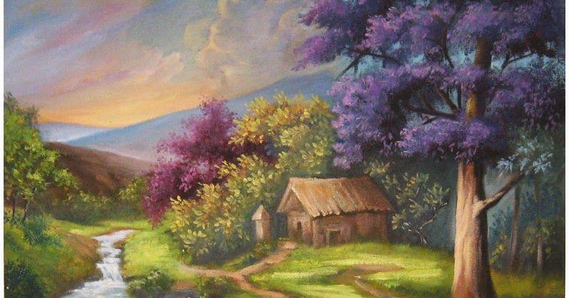 Lukisan panen padi raya dating