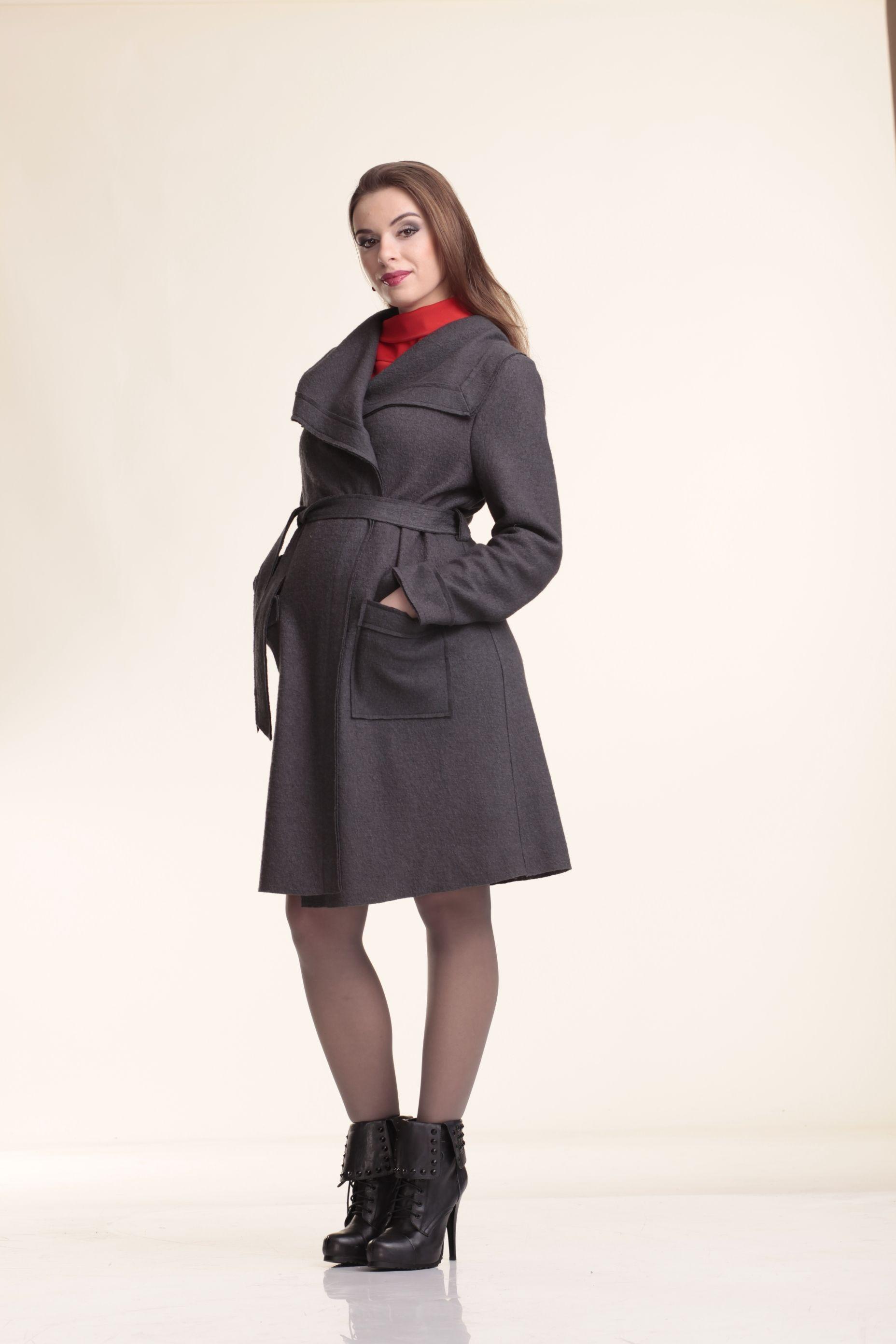 mama ija dorothy wrap wool maternity coat pregnancy fashion #1: de b7ab1d325fe4f0151eadba