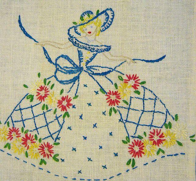 sweet embroidery | Bordado, Mimos y Damas