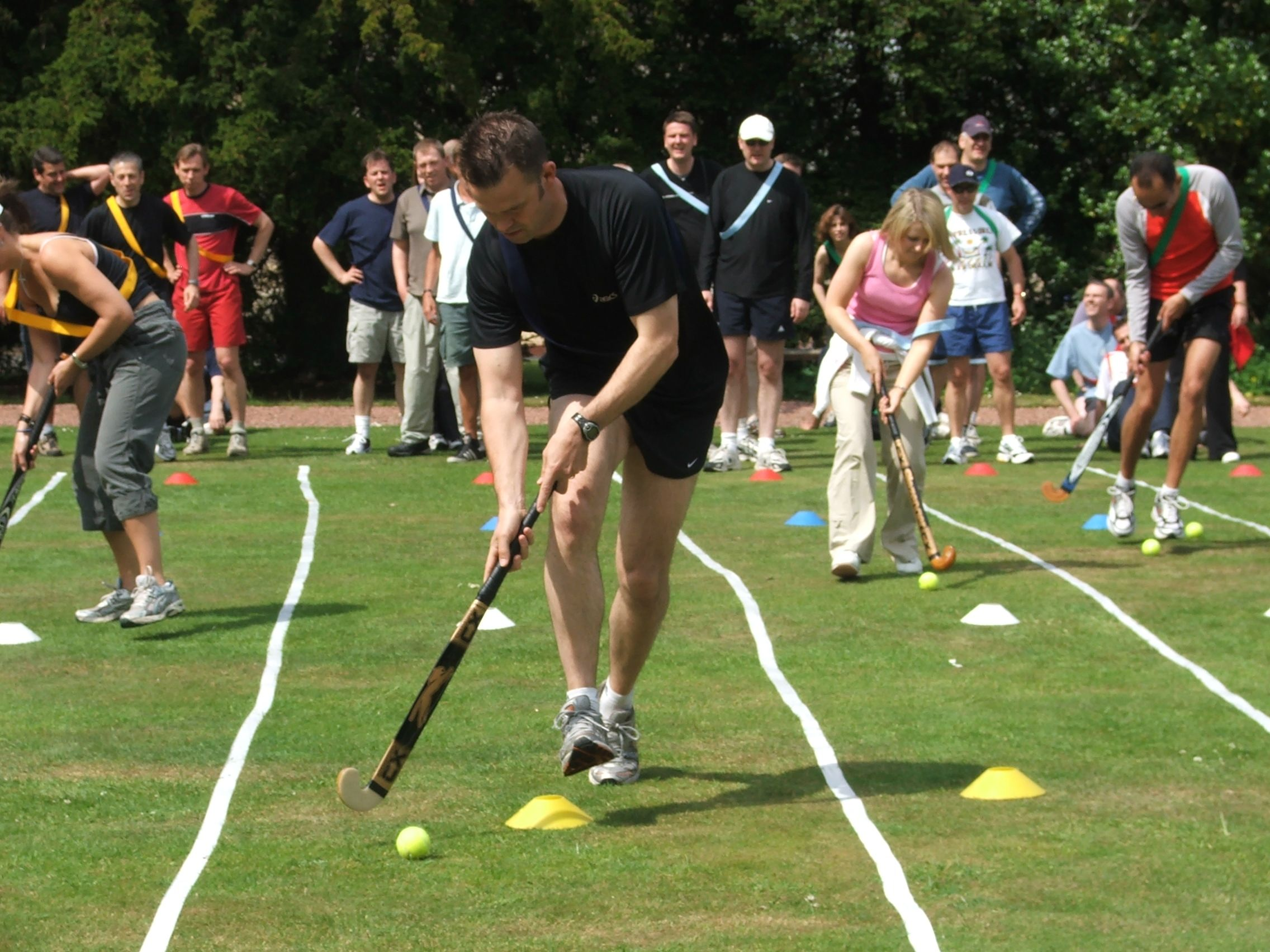 Remember school sports day at school? That was a day of
