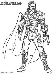 Avengers Thor Coloring Pages Avengers Coloring Avengers Coloring Pages Superhero Coloring Pages