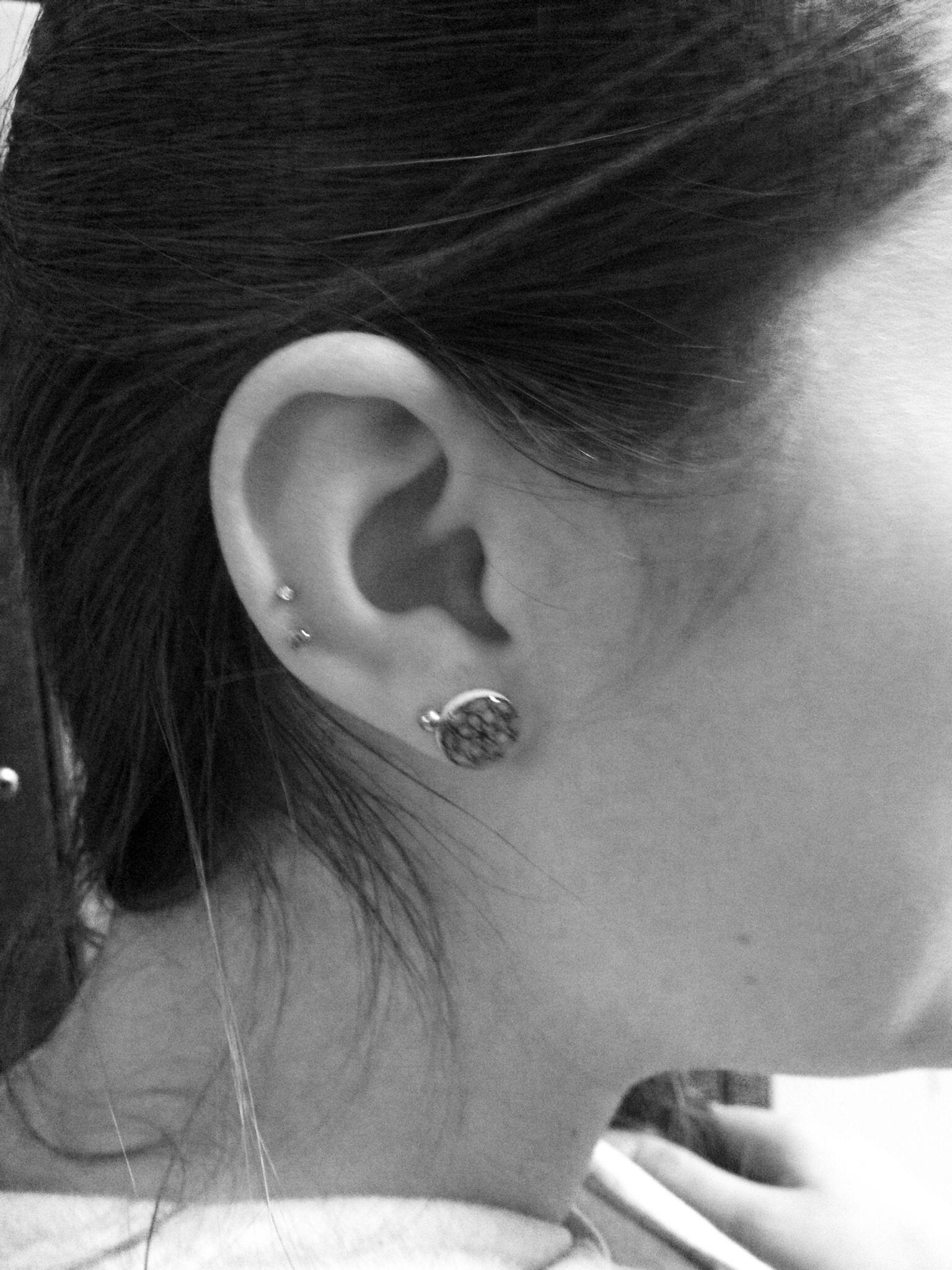 Pretty nose piercing  Ear piercing  Tattoos u Piercings  Pinterest  Ear piercing