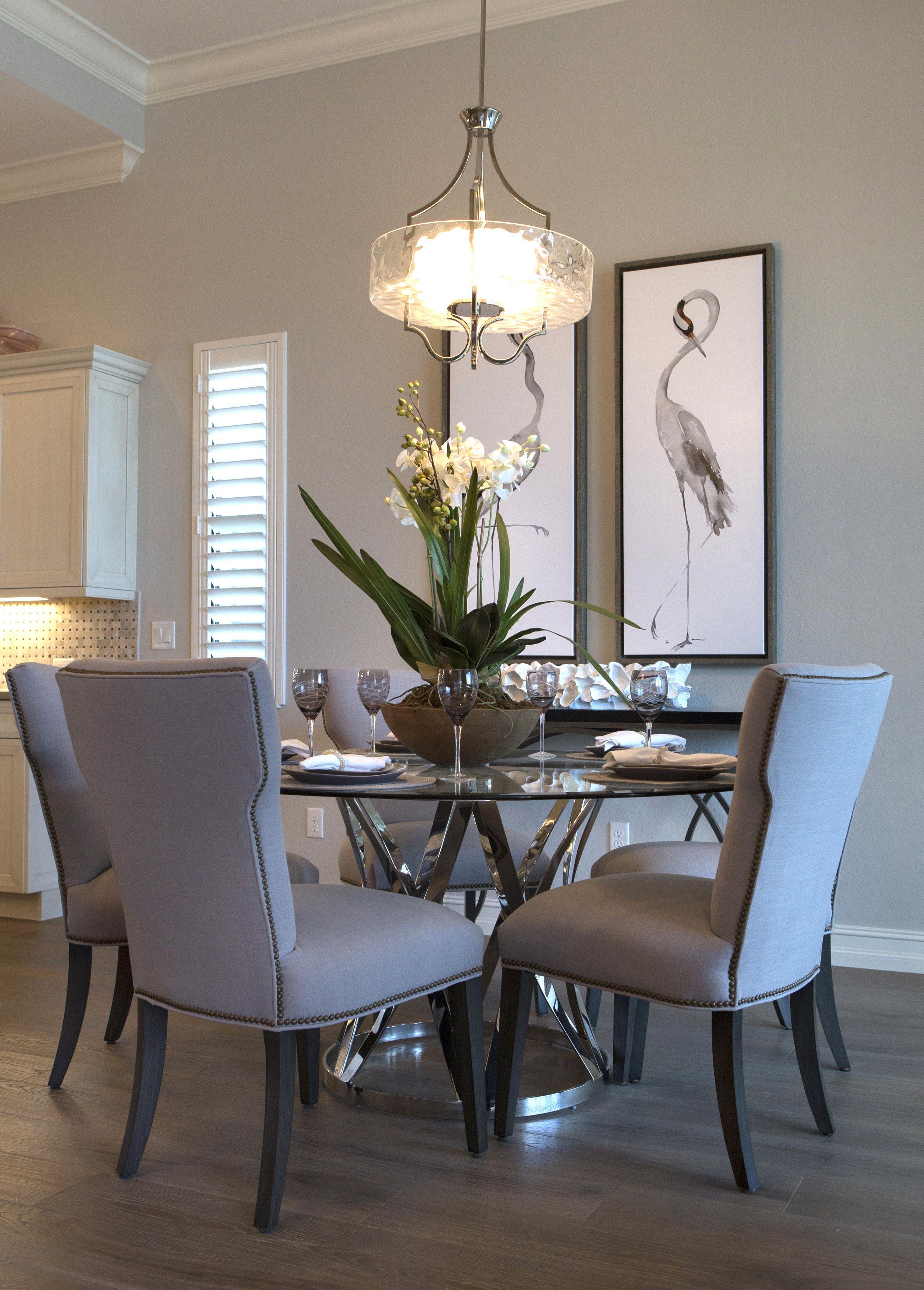 Floor Paint Cabinets Backsplash Dining Room Small Dining