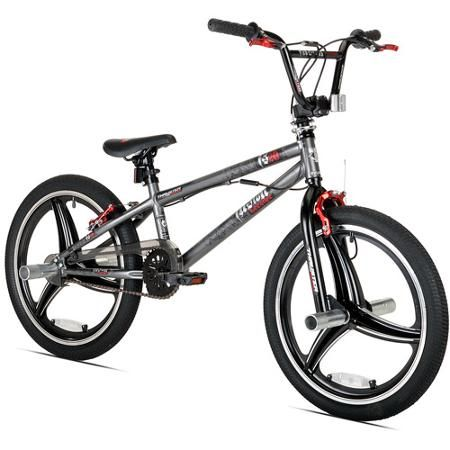 20 Thruster Fusion Boys Bicycle Grey Walmart Com Bmx 20 Best Kids Bike Bicycle