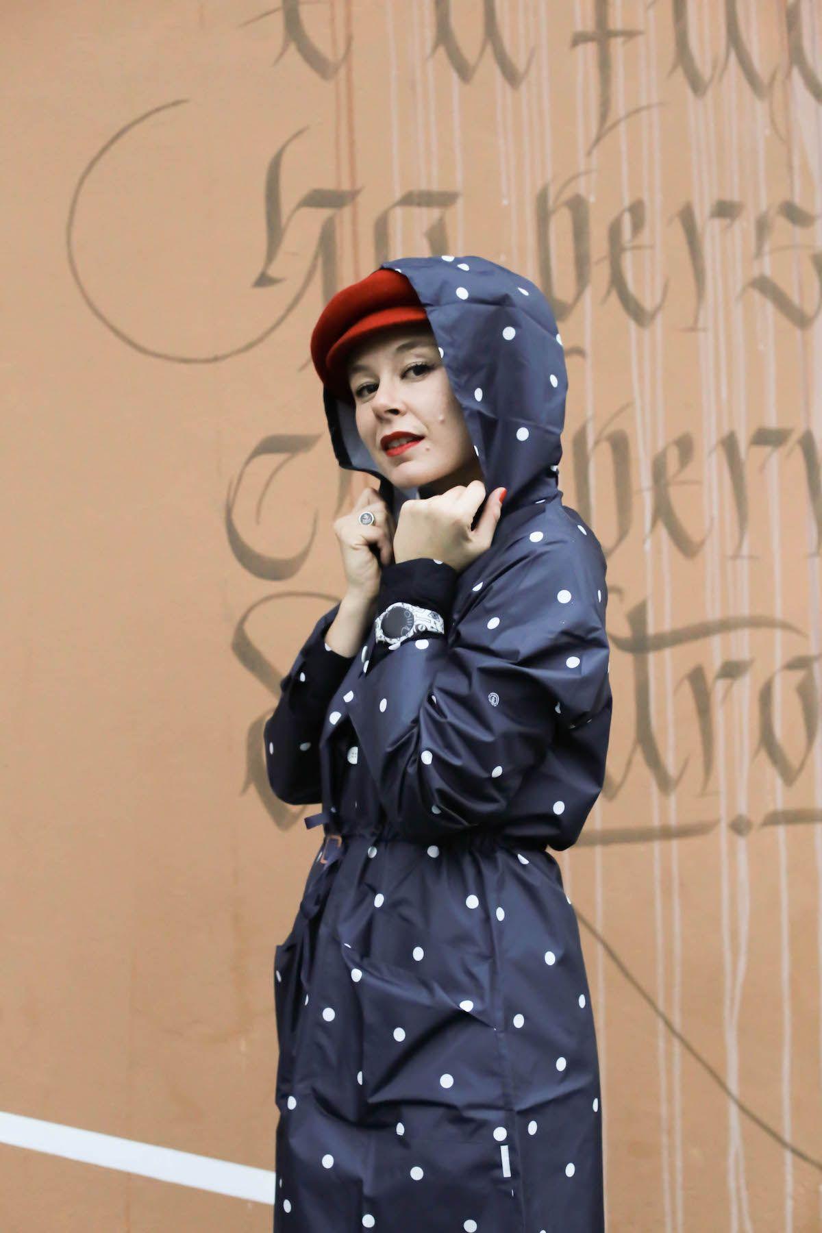 Element Eden polka dots Zitto Watch look fashion blogger