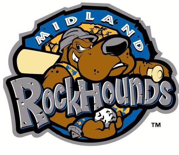 midland rockhounds aa texas league oakland athletics baseball rh pinterest com Minor League Baseball Home Runs Minor League Baseball Fight