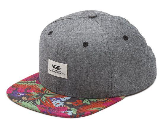 Walmer Hampton Floral Snapback Cap by VANS  56f6fcfc34