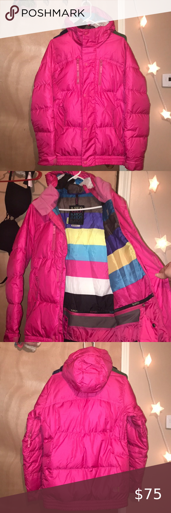 Burton Down Feather Puffer Jacket Clothes Design Fashion Coats For Women [ 1740 x 580 Pixel ]
