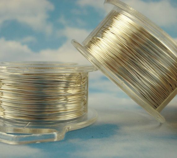 200 Feet Non Tarnish Silver Plated Enameled Coated Copper Wire