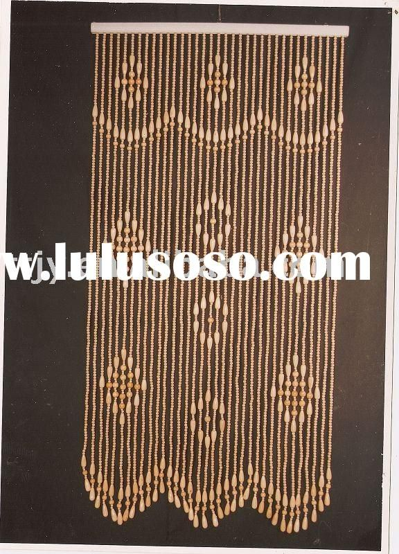 Bamboo Beaded Door Curtains Curtain Menzilperde