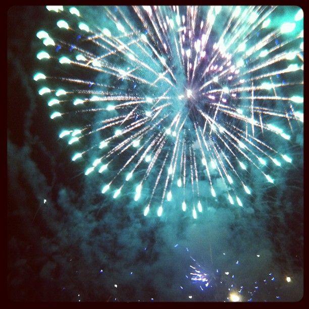 Docklands - Friday fireworks.